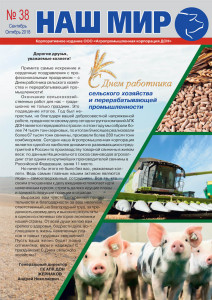 Корпоративный журнал «Наш мир» №38